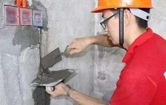水電管道開槽后用石膏封還是水泥封好