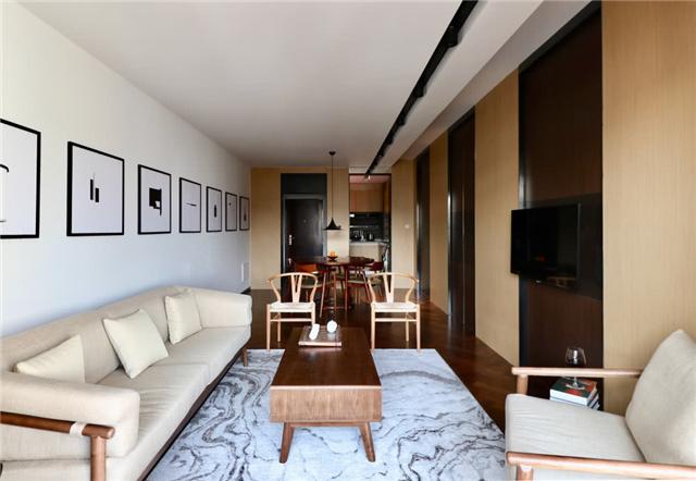 威海海边二居室 基于现代风格和新中式设计