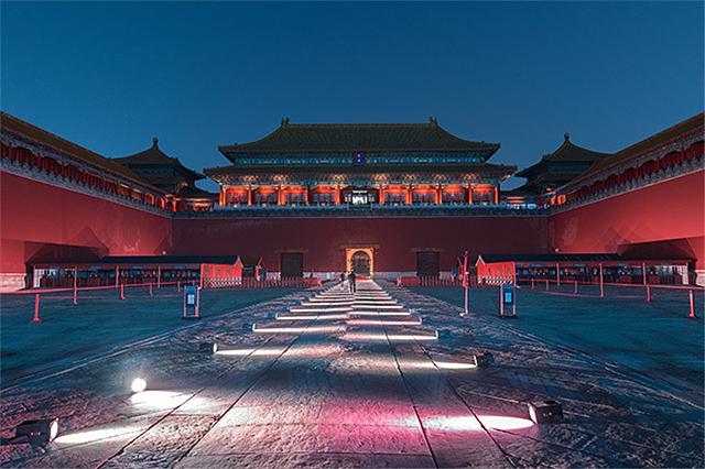 故宫首次晚间开放 紫禁城上元之夜现场照片