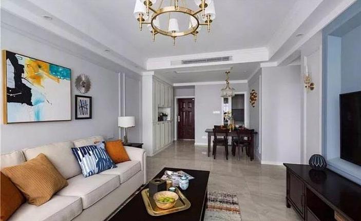 89平米小户型两居室装修 打造成气质简美风格家装