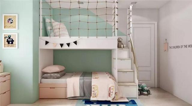 分享15个儿童房装修效果图 总有一款撩动你的心