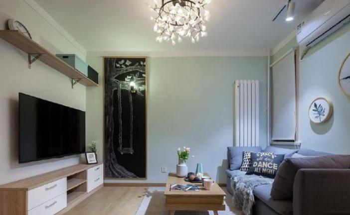 45㎡单身公寓装修设计 过道当卧室你见过吗