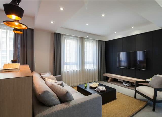 120平现代简约风格房子 简洁大气特别漂亮