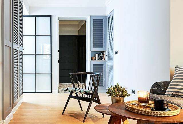 66平米老屋改造 摇身成为优雅英式风格小宅