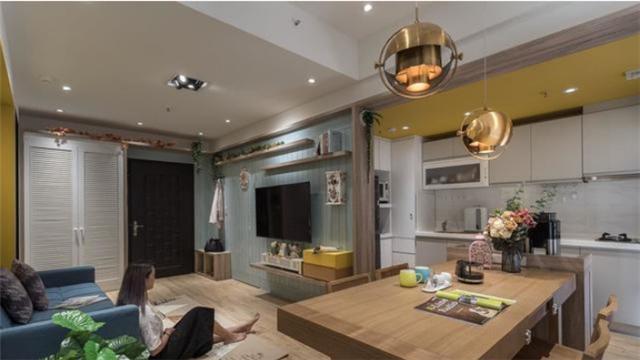 小户型开放式装修设计 营造一家四口的温馨家居生活