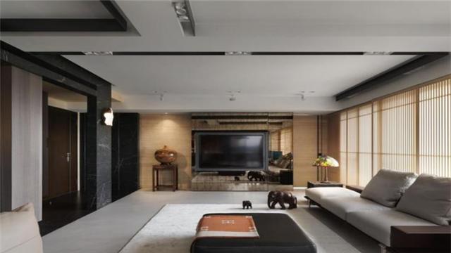 160㎡现代风房屋装修设计 营造出闲适悠然的家居气息