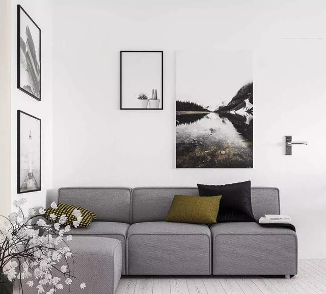 客廳掛畫的實用技巧 布局得當墻面增色不少