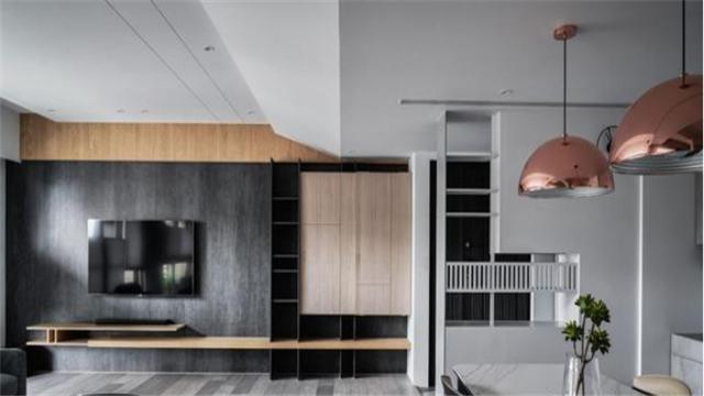 124㎡四房现代风格装修设计 打造一间属于自己的家
