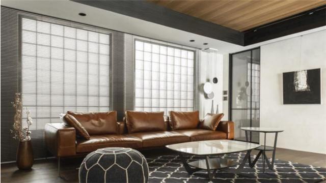 136平米2房2厅老屋翻新装修 营造舒适休闲风家居生活