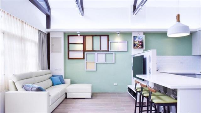 70年老房翻新装修 创造怀旧与现代并存的家居