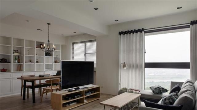 145平四房混搭風格家居裝修 完美揭開愜意家居生活