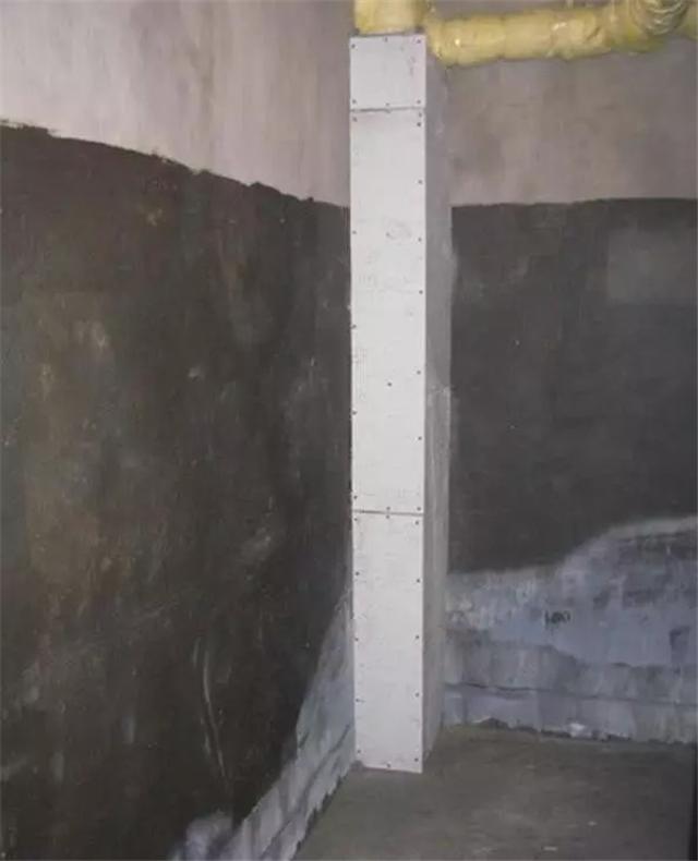 下水管包起来美观又隔音 红砖加隔音棉效果好