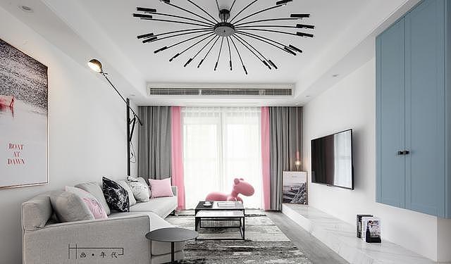 有颜又有范儿的客厅装修 绝对是参考的经典!