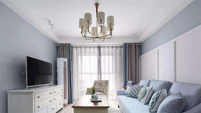 家居客厅装修设计 沙发不靠墙可多出一间房