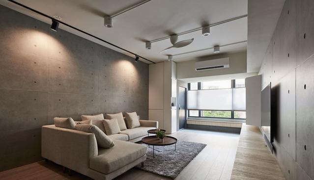 老房装修翻新设计 打造空间开阔简洁的家居