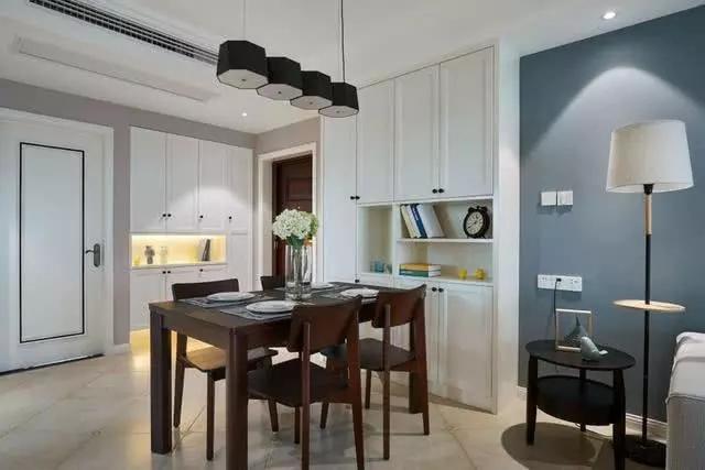 145平新中式三居室设计 改变对中式装修的刻板印象