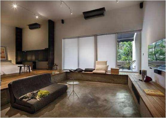 地面装修不用瓷砖木地板 选用水泥自流平也很好看
