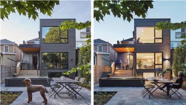 加拿大别墅现代风装修设计 打造舒适与大自然零距离接触的家居