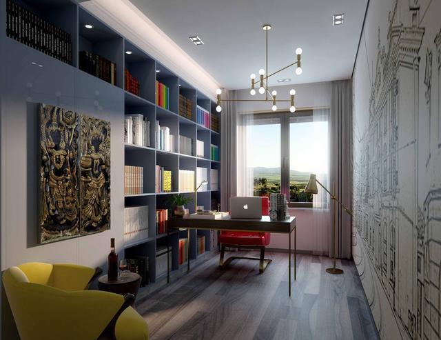 5款书房设计风格 每一款都能找到一种灵感