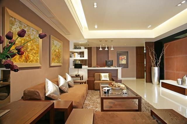 5种不同风格的客厅 不信没有你喜欢的!
