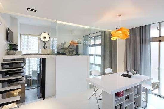 小户型巧妙设计也有大空间 营造出清爽宽敞的视觉感