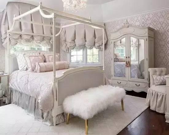 9款欧式轻奢卧室 小户型也要国际范!