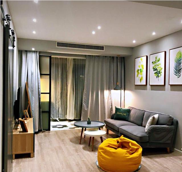 78平两室北欧风装修设计 集美观实用为一体的小户型家居