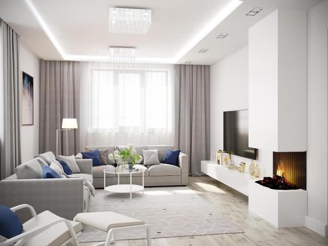 现代简约风格三居室 注重空间功能和实用性