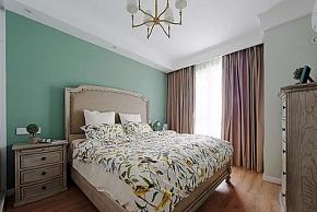 110㎡田园三居之卧室装修效果图
