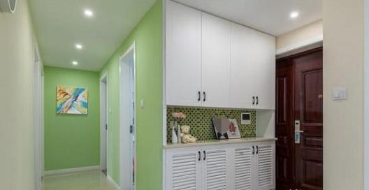116㎡简约风新房装修设计 墙面配色全屋都是亮点