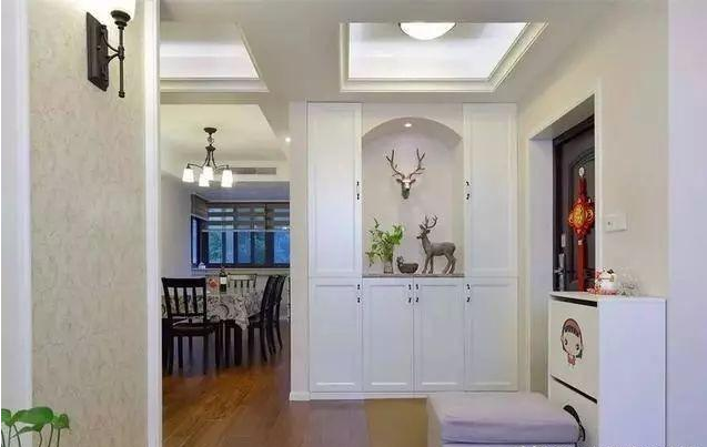新房简约复古风装修设计 参观过的朋友都夸整洁大气