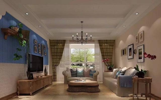 165㎡后现代三居室装修 过去与未来的交替