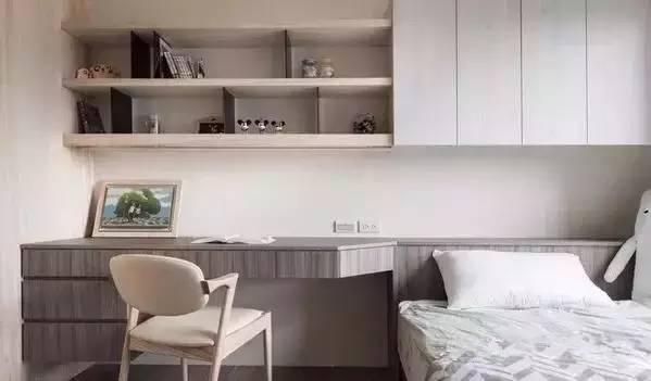 卧室和书房合二为一 简直不能更完美!