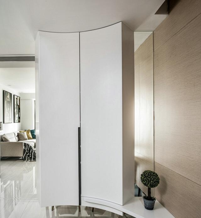 89平三室一厅装修设计 打造休闲港式风家居空间