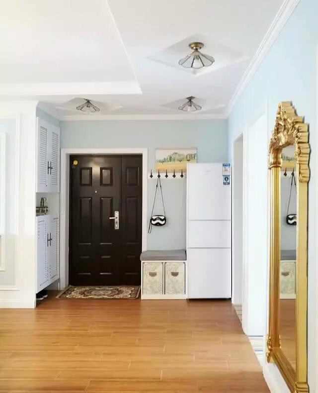 120平米混搭風格三居室 色彩斑斕好看實用