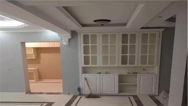 新房装修设计效果不错 特别是柜子很实用