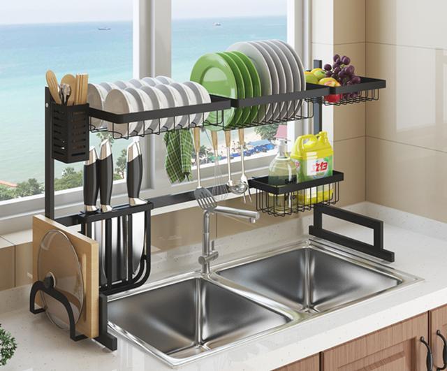 最近很火的厨房收纳神器 为清洁多添置几款