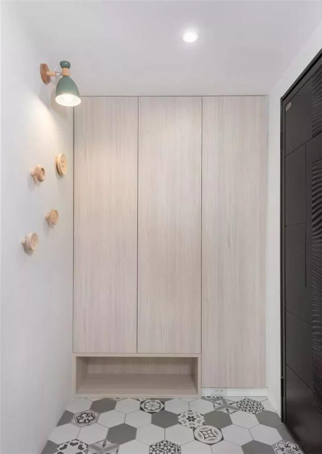 132平北欧风格新房 全屋装得满满的储物柜