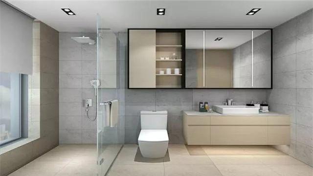 卫生间设计如何干湿分离 这些方法也许适合