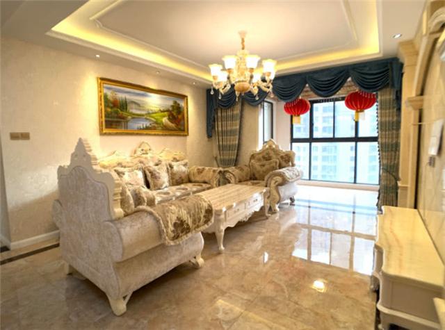 时尚奢华的欧式风格大房子 釉面地板瓷砖太华丽