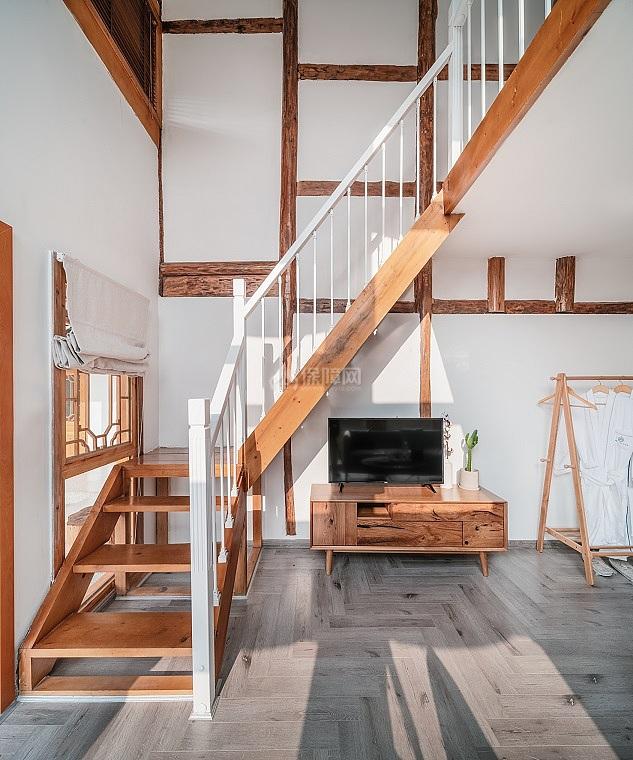 邂逅艺术酒店之楼梯设计效果图