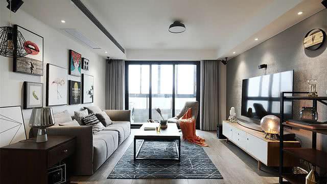 96平摩登后现代风格三居室 装修效果出人意料