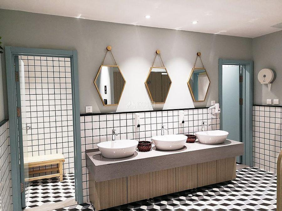 蓝乔青旅酒店之卫生间装修设计效果图