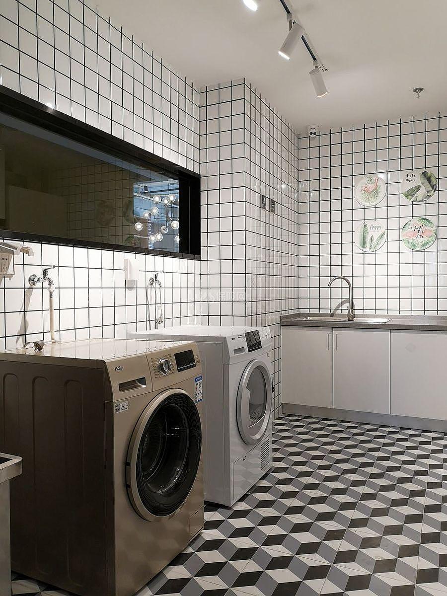蓝乔青旅酒店之洗衣间设计效果图