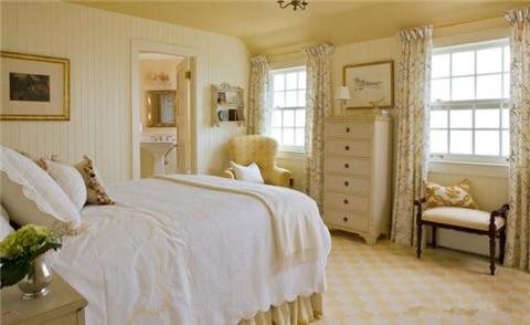 快乐的黄色装修卧室 15间将带来视觉的冲击
