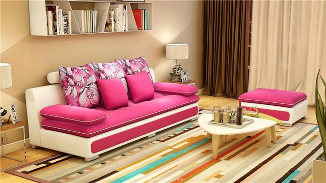 小户型沙发选这种 显得空间大还好看