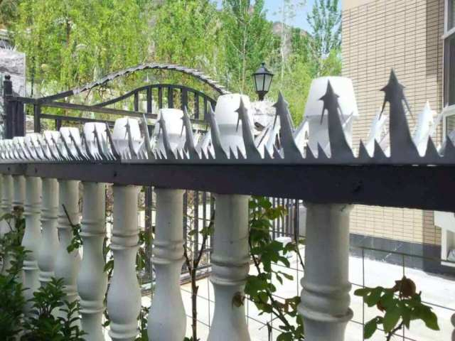 阳台流行装防盗刺美观实用又省钱