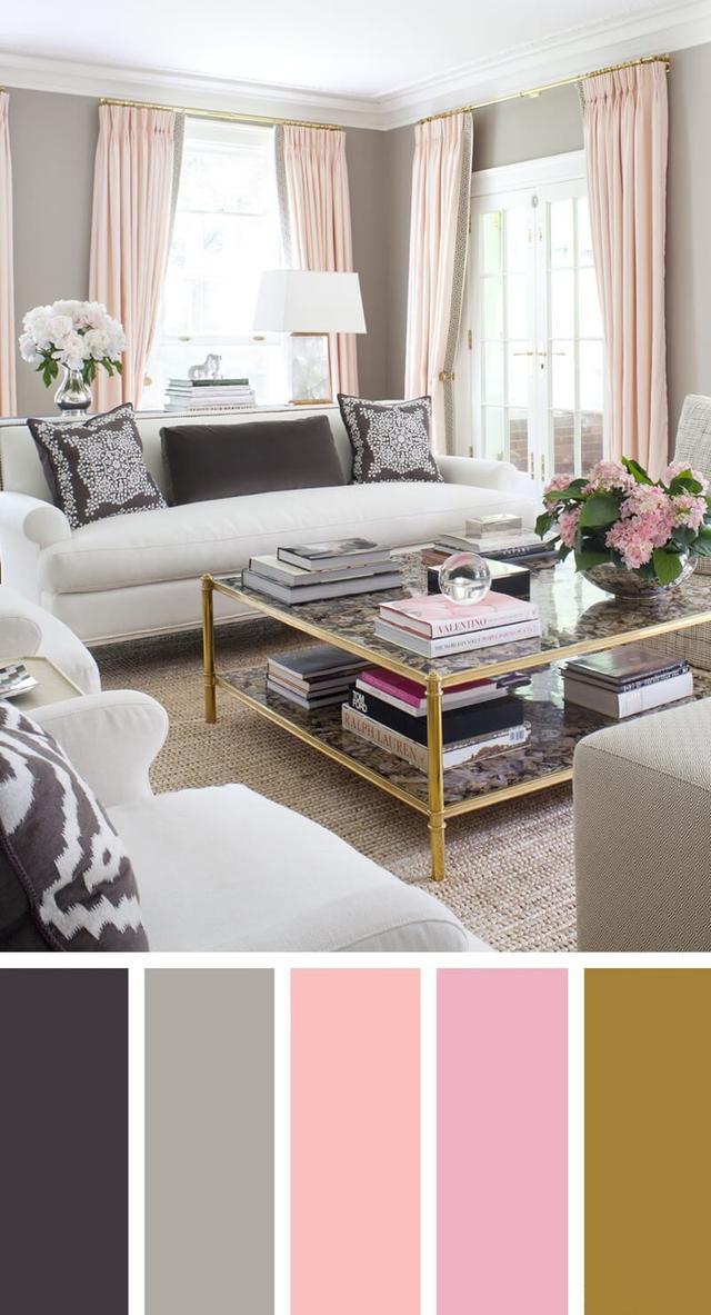 7个客厅配色方案 让您的空间看起来更专业