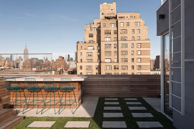 在屋顶眺望帝国大厦!住在曼哈顿顶层公寓是何种体验?