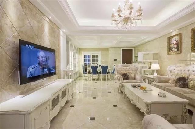 160平简约欧式风格大房子 生活空间浪漫而惬意